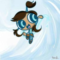 PPG style- Korra by blowbubblesblow