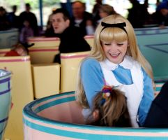 Alice on the Teacups by ARTvatard