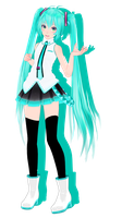 .: [MMD] Tda PoPiPo Miku DOWNLOAD :. by xCaramel-Galaxy