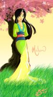 Mulan by LSoto