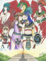 Contest Entry- Love in the Aztec Empire by Blackangel94a
