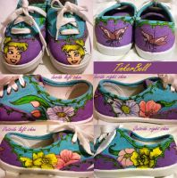TinkerBell Shoes by Rosemev