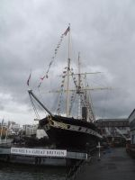 SS Great Britain in Dock by Party9999999