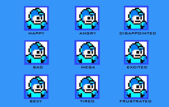 The Many Faces of MegaMan by Scott-Pal