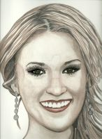 Carrie Underwood In Color by donna-j