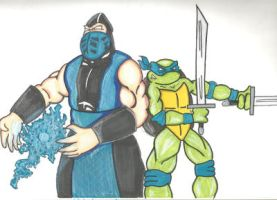 Leo And Sub Zero Quickie by kylemulsow