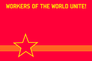 WV Communist Party Flag by BullMoose1912