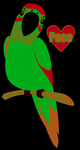 Paco the Parrot by SillyEwe