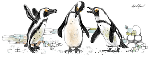 The Three Penguins by altergromit