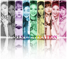 Girls' Generation (SNSD) ~Rainbow POWAAAA!!!!~ by ShimSungHyo