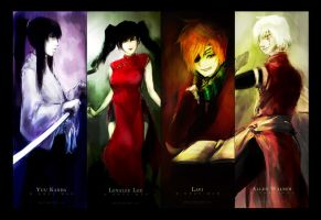 DGM: Exorcists by apkyo