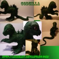 Godzilla by customlpvalley