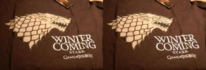 3D Game of Thrones shirt - Stark by chrisleblanc79