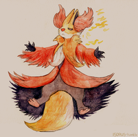 150+ project: delphox by edface