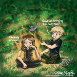 The Hunger Games: The Girl on Fire by OdieFarber