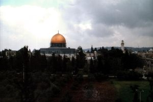 Dome of the Rock by wiebkerost