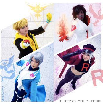 Choose your Team by Nko-ennekappao