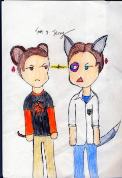Bully: Tom and Jerry by Lilpuppy8888
