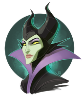 Maleficent by bib0un