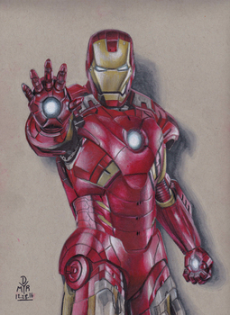 IRON MAN (MARK VII) by BrokenHAX
