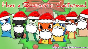 Have a Slugtastic Christmas from SKGaleana! by SKGaleana