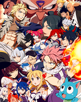 Fairy Tail Grand Magic Games Arc Promo Poster #2 by luna460