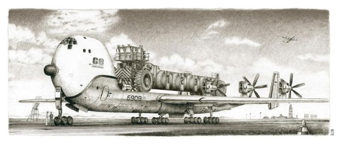 flatbed airplane 01 by liquidforests