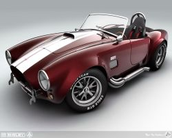 1965 Shelby Cobra by AfroAfroguy