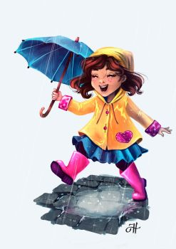 Rainy Day by AsyaNor