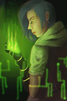green powers by DLsketch
