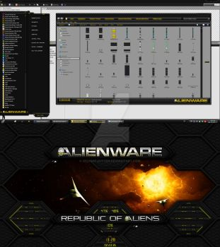 PreviewPreview of my upcoming Alienware HQ GOLD by Designfjotten