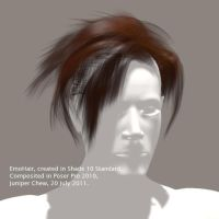 My New EmoHair 3D Mesh by ibr-remote