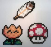Fuse Bead Mario Set 2 by ProbonoBear