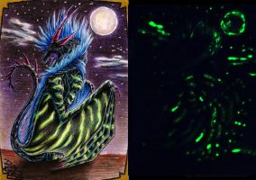 AC: Glow in the dark Naraku by LegacyofanArtist