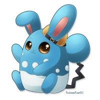 Commission: Johanna the Azumaril by RainbowRose912