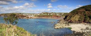 020510 Hope Cove pano by InsaneGelfling