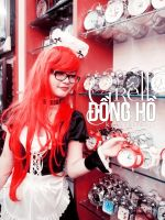 [Costume] Red Maid (2) - Grell ver.female by Book-No00