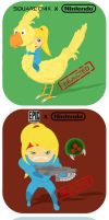 Yonkoma - Metroid Other Team by Gueseuch