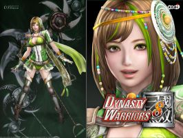 DW8 Wallpaper - Bao Sanniang by Koei-Warrior