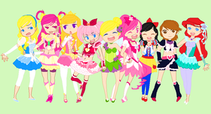 Disney Meets Precure by HatterM97