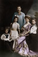 Franz Ferdinand and his Family by KraljAleksandar