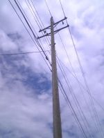 Power Lines by Juputoru