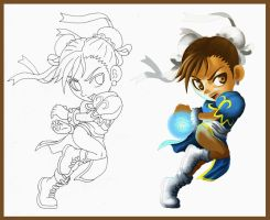 Everybody Loves Chun Li by diamantestudio