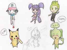 chibis by tamisise