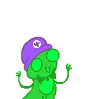 :: ANIMATED Talksprite: Felt: Clover :: by NurseTiger
