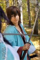 Hakuouki: with sword by Maler-D