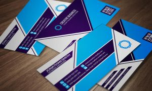 Modern Corporate Business Card SE0055 by annozio
