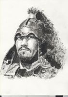 Ghengis Khan by DrawingsandSuch