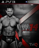 WWE 14 Cover. The Miz by RaTeD-Gfx