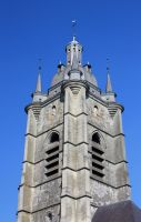 Avesnes sur Helpe Church Tower by YunaHeileen